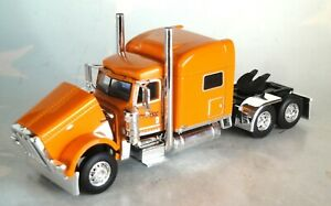 "DCP SCOTLYNN ORANGE  PETERBILT 389 70"" SLEEPER CAB ONLY 1/64 60-0705 C"