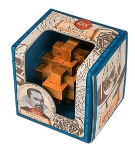 Kepler's Planetary Puzzle: Professor Puzzle Great Minds Wooden Puzzle