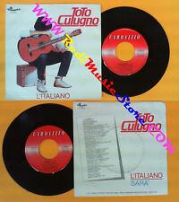 LP 45 7'' TOTO CUTUGNO L'italiano Sara'1982 italy CAROSELLO 20513 no cd mc vhs *