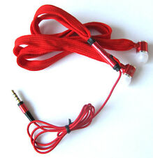 Shoelace In Ear Stereo 3.5mm Handsfree Earphone with Mic For HTC Mobile Phones