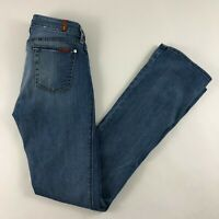 7 For All Mankind Women's Jeans Light Wash Skinny Bootcut Size 26 EUC