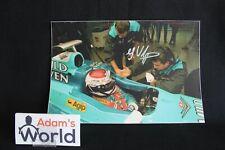 Print Mild Seven Benetton Renault B195 Jos Verstappen (NED) signed (GBR)