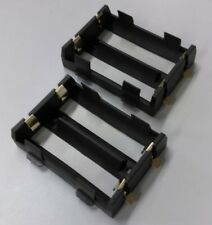 2 pcs 26650 Duel Battery Charging Cell Holder Brass SMD clip