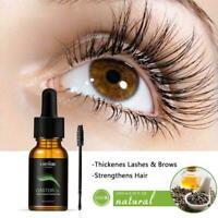 Organischen Rizinusöl für Wimpern Augenbrauen Haar Mit Pinsel HEIßE A8C5