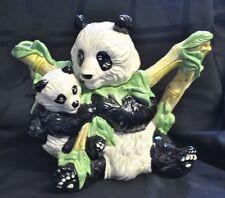 Giant Panda & Baby Teapot Paul Cardew Designer Endangered Species Collection