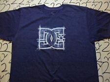 Large- Tint Of Purple DC Shoes T- Shirt
