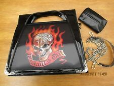 Alchemy Gothic-Donna GOTHIC handbag - 3D-FANTASY TESCHIO out-free Tessuto Cover