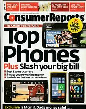 Consumer Reports Magazine January 2013 ( Buy 1 Get Others at 50% off) Back Issue