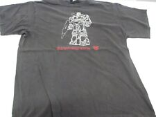 Vintage 2000 Transformers Soundwave Men's T Shirt Tagged Changes Large