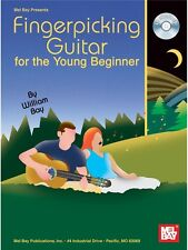 William Bay Fingerpicking Guitar for the Young Beginner MUSIC BOOK & CD