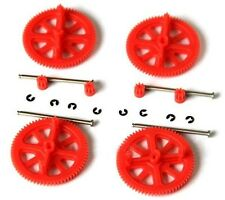 Parrot AR Drone 2.0 & 1.0 Quadcopter Spare Parts Motor Gears & Shafts Red