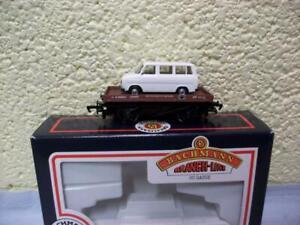 1-Plank Lowfit Wagon B450023 & Transit Van Load Bachmann No 33-410 '00' Boxed