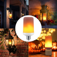 Fire Flame LED Light Bulb Flicker Burning Effect E27 Classic Vintage Decor Lamp