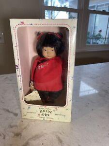 "Original HEIDI OTT Doll Swiss Design quality original box Little Ones 8"" Asian"