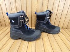 Columbia Boys Waterproof Insulated Winter Snow Boots (Youth Big Kids Size 3)