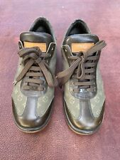 Louis Vuitton lace up sneaker style shoe size EU 38.5 , US 8 made in Italy