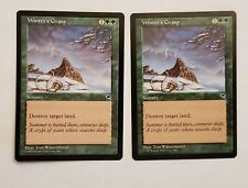 Awesome Magic the Gathering MTG Tempest Winter's Grasp x2 nm/mint English