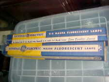 ANTIQUE FLUORESCENT LAMPS GE MAZDA 14 WATT DAYLIGHT 14 INCH