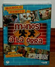 MANOS A LA OBRA 4º TEMPORADA COMPLETA 4 DVD NUEVO PRECINTADO SERIE (SIN ABRIR)