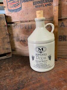 Vintage Miranda Pops Special Release Old TAWNY PORT Bottle