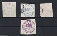 NEW SOUTH WALES GOVERNORS FRANK STAMP COLLECTION c1898 & LATER REF R250