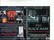 Black Mask-1996-Jet Li-Movie-DVD
