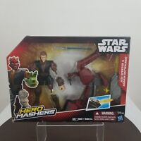Star Wars Hero Mashers Jedi Speeder & Anakin Skywalker Action Figure
