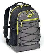 Borsa Zaino Lotto Backpack Crossride Escursioni montagna Grigio Nero Lime T0433