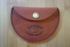 HANDMADE LEATHER COIN PURSE POUCH, possibles bag,earbud holder. cord keeper. sta