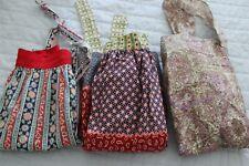Lot of three vintage handmade half aprons