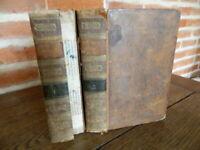 BERAUD DUFEY 2/2 DICTIONNAIRE HISTORIQUE DE PARIS 5 planches cplt. 1825