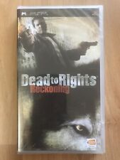 Dead to Rights: Reckoning (Sony PSP, 2005) - SEALED!! Region 3 Version