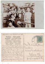 Abbazia Opatija, Matrosen vom Schiff SMS Babenberg,German marines RPPC 1907