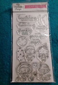 My Favorite Things Happy Haunting Clear Stamps