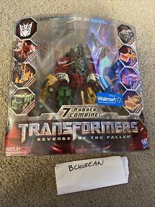 Transformers Revenge of the Fallen Legends Class Constructicon Devastator ROTF