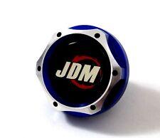FOR JDM HONDA BLUE BILLET ENGINE OIL CAP CIVIC ACCORD S2000 CRX SI CRZ CRV PILOT