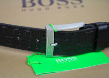 NEU HUGO BOSS GREEN HERREN GÜRTEL WENICIO SZ35 Gr 90 KUHLEDER LEDER BELT LEATHER
