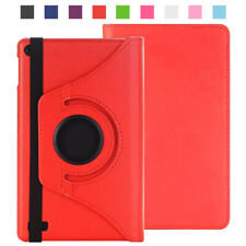 "For Amazon Kindle Fire 7"" HD 8"" Leather 360° Rotating Stand Case Tablet Cover"
