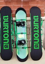 Burton Youth Ready to Ride Snowboard Package 135cm Large with Medium Bindings