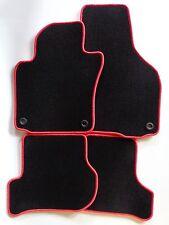 Fußmatten schwarz Velours für VW Golf 5 V GTI 2003-2007 Autoteppiche Bef.oval