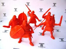 Roman Legionaries - 5 Figures 54mm Soft plastic Tehnolog Russian Toy Soldiers