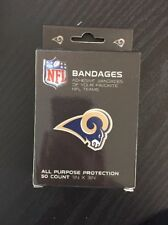 """NFL Bandages, Rams (50 Count Pack) """"New"""""""