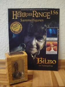 Herr der Ringe-Figur : Bilbo im Nebelgebirge  (Nr. 156)in OVP+Heft