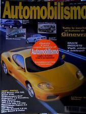 Automobilismo 4 1999 Test Fiat Bravo JTD 105, Cabriolet 1.6, Alfa Romeo [Q69]