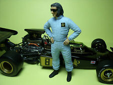 1/18  EMERSON  FITTIPALDI  UNPAINTED  FIGURE   MADE   BY  VROOM  FOR   EXOTO
