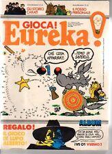 Eureka gioca ! n 9 del 1983 + insertio gioco di Lupo Alberto