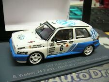 VW GOLF II g60 #6 RALLY WEBER Feltz Italia Costa Smeralda 1990 NEO resin 1:43