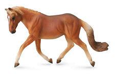 CollectA 88519 Trotting Chestnut Haflinger Mare - Model Horse Toy - NIP