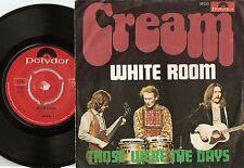 CREAM WHITE ROOM DANISH 45+PS 1968 CLAPTON BRUCE MOD FREAKBEAT GARAGE PSYCH