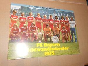 FC Bayern München Bildkalender 1975